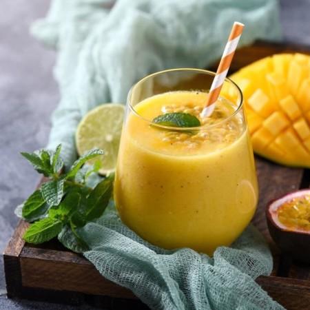 Estratto di mango lime e frutto della passione