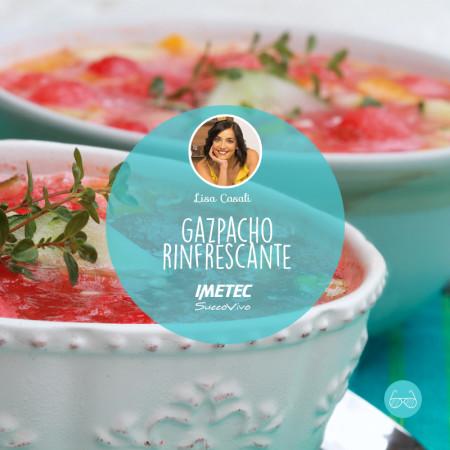 UN'IDEA PER LA CENA IN TERRAZZA: gazpacho rinfrescante