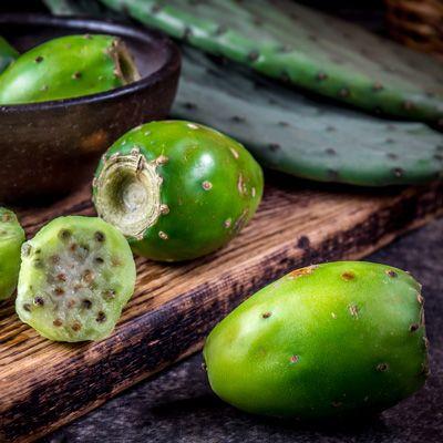 Succo di fichi d'india e mela verde