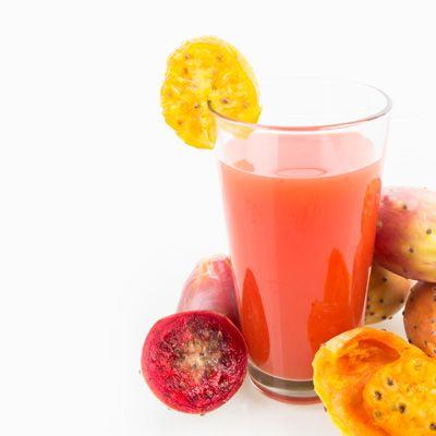 Succo di fichi d'india e arancia