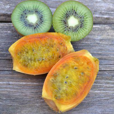 Succo di fichi d'india e kiwi